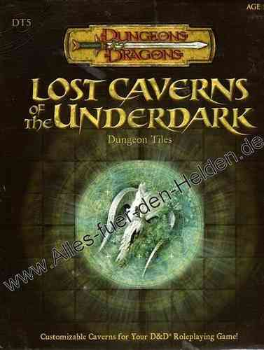 Dungeon Tiles: Lost Caverns of the Underdark