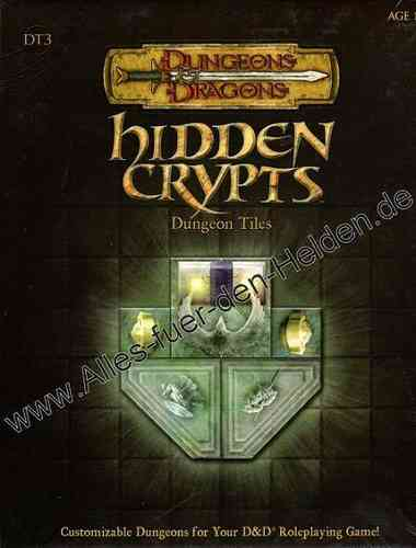 Dungeon Tiles: Hidden Crypts