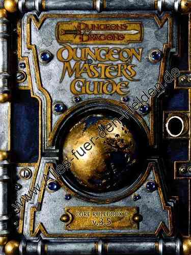 D&D3: Dungeon Master's Guide v.3.5