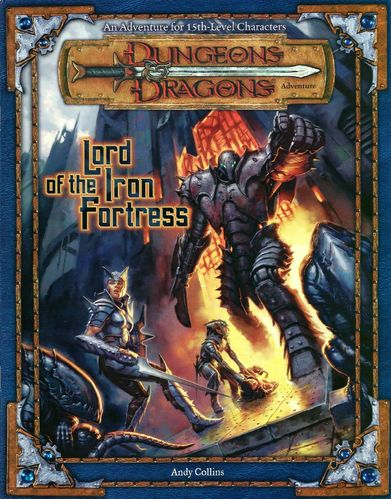 D&D3: Lord of the Iron Fortress