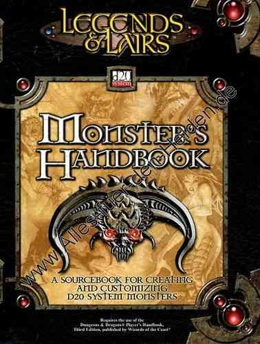 Legends & Lairs: Monster's Handbook