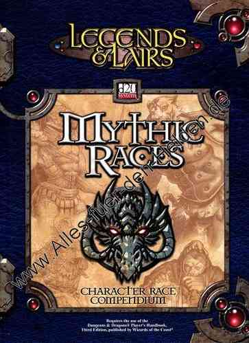 Legends & Lairs: Mythic Races