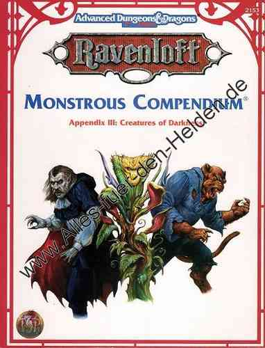 Ravenloft: Monstrous Compendium Appendix III: Creatures of Darkness