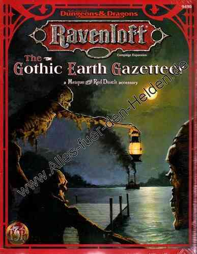 Ravenloft: The Gothic Earth Gazetteer
