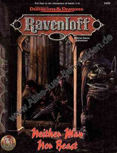 Ravenloft: Neither Man Nor Beast