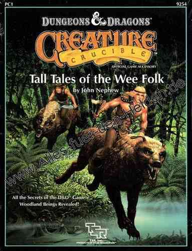 Creature Crucible: Tall Tales of the Wee Folk