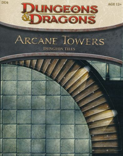 D&D4: Arcane Towers (Dungeon Tiles)