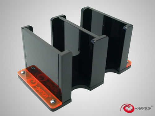 Card Holder - 2L Solid (Black)