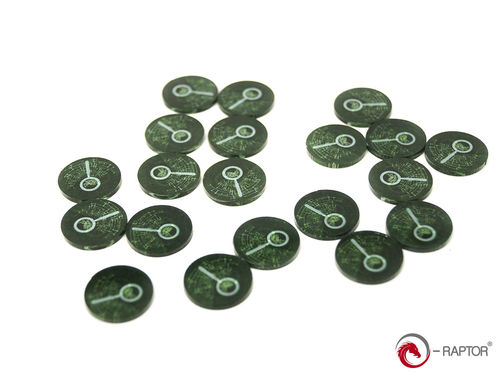 Token and Marker: Clues Tokens Set (20pcs) for Arkham Horror™, Eldritch Horror™