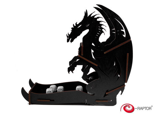 Dice Tower - Dragon Black