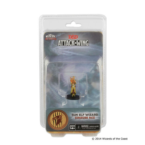 D & D Attack Wing: Sun Elf Wizard (engl.)