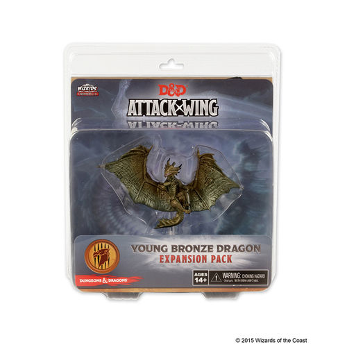 D & D Attack Wing: Young Bronze Dragon (engl.)