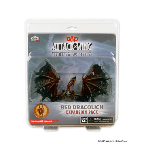D & D Attack Wing: Red Dracolich (engl.)