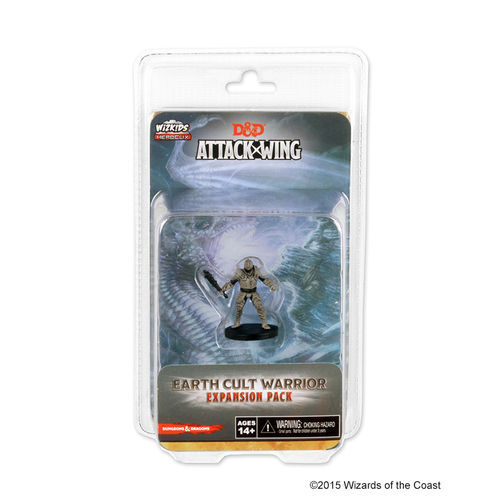 D & D Attack Wing: Earth Cult Warrior (engl.)