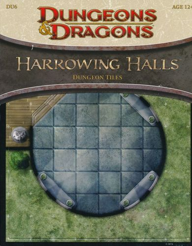 D&D4: Harrowing Halls (Dungeon Tiles)
