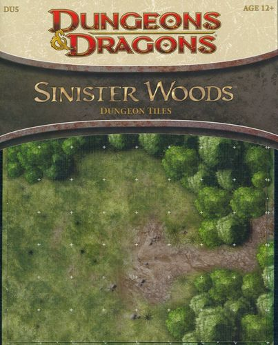 D&D4: Sinister Woods (Dungeon Tiles)
