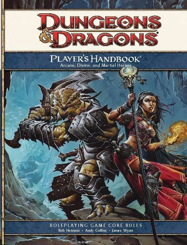 D&D4: Player's Handbook
