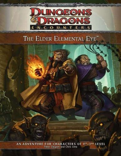 D&D4: The Elder Elemental Eye