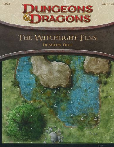 D&D4: The Witchlight Fens (Dungeon Tiles)