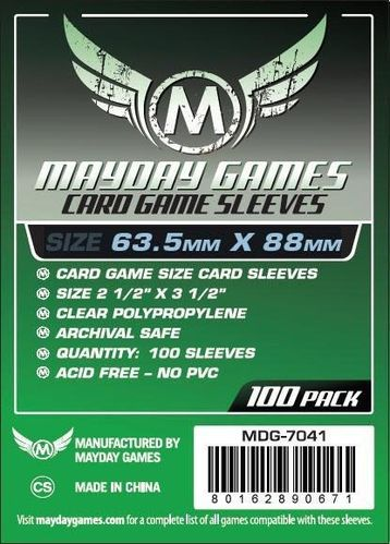 Card Game Sleeves (100pcs) 63,5x88mm - 7041
