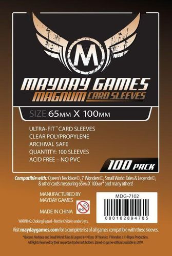 "Magnum Copper Sleeves ""7 Wonders"" (100pcs) 65x100mm - 7102"