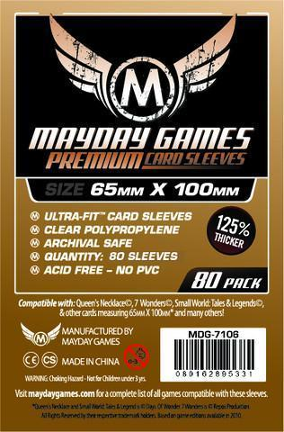 "Premium Magnum Copper Sleeves (80) ""7 Wonders"" 65x100mm - 7106"
