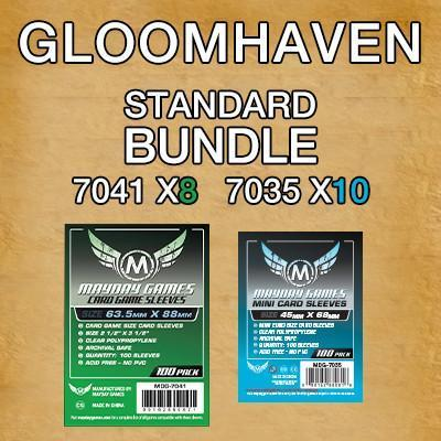 """Gloomhaven"" Standard Card Sleeve Kit"