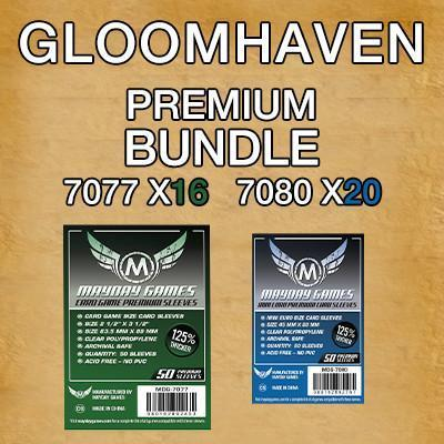 """Gloomhaven"" Premium Card Sleeve Kit"