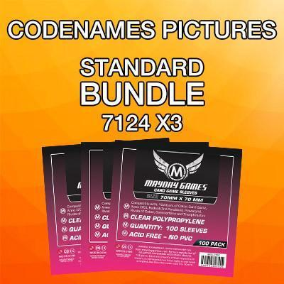 """Codename"" Standard Card Sleeve Kit"