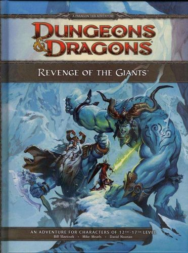 D&D4: Revenge of the Giants