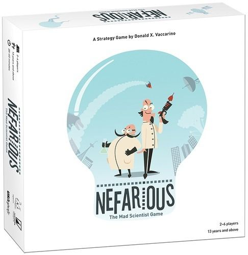 Nefarious - The Mad Scientist Game EN