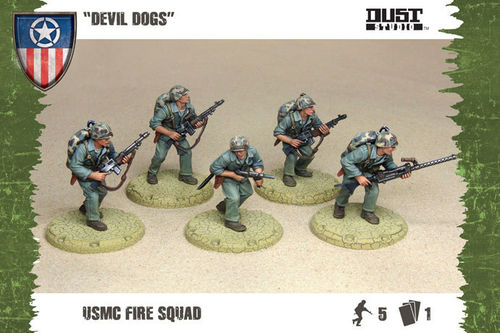 "Dust Tactics: USMC Fire Squad - ""Devil Dogs"""