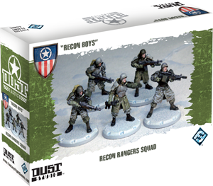 "Dust Tactics: Recon Rangers Squad - ""Recon Boys"""