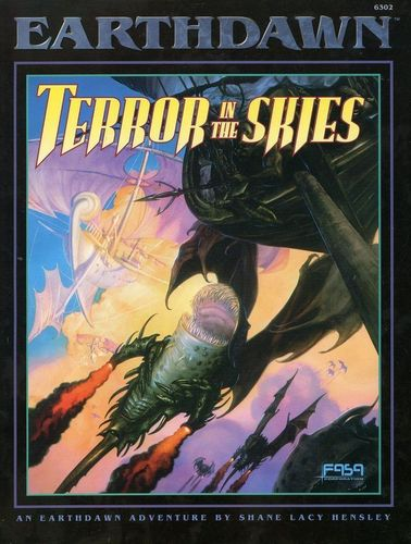 Earthdawn: Terror in the Skies
