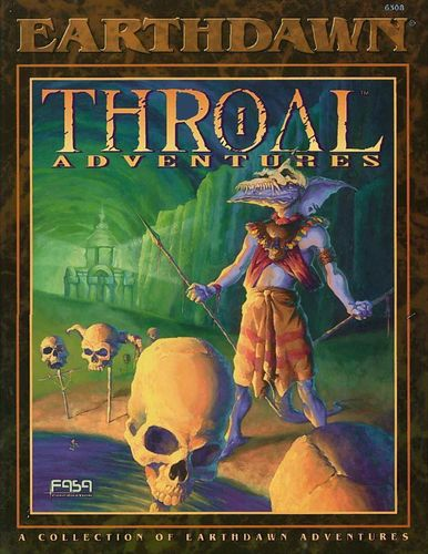 Earthdawn: Throal Adventures