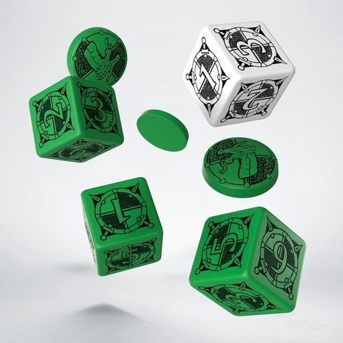Kingsburg: Dice and Tokens - Set Green