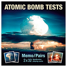 Atomic Bomb Tests - Memospiel/Pairs Game DE/EN