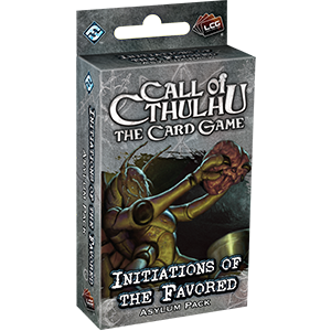 CoC: Initiations of the Favored - Asylum Pack EN