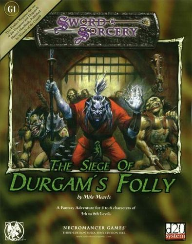 Sword&Sorcery: The Siege of Durgam's Folly