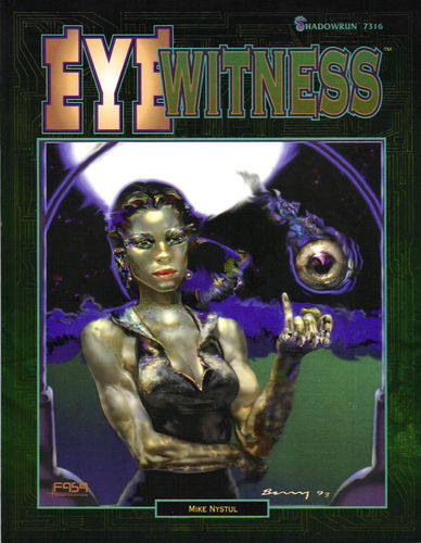 Shadowrun: Eye Witness (2.Ed.)