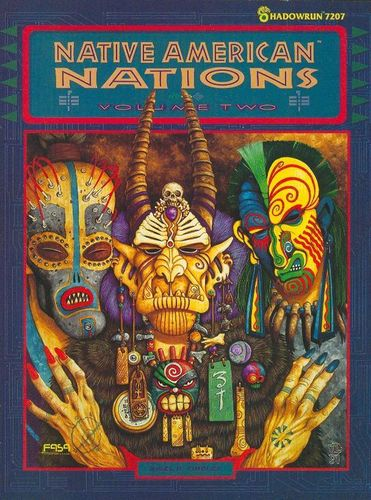 Shadowrun: Native American Nations: Volume Two (1.Ed.)