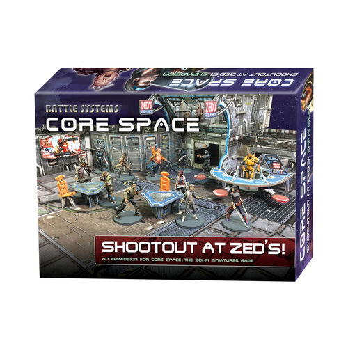 Core Space: Shootout at Zed's (Expansion) EN