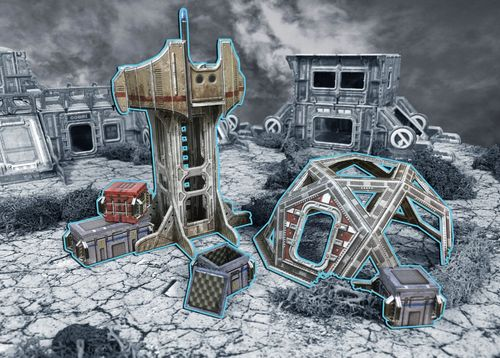 Tabletop Terrain Outlands Explorer Station (6 pcs) EN