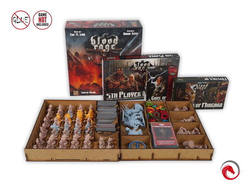 Insert Blood Rage + all Expansions