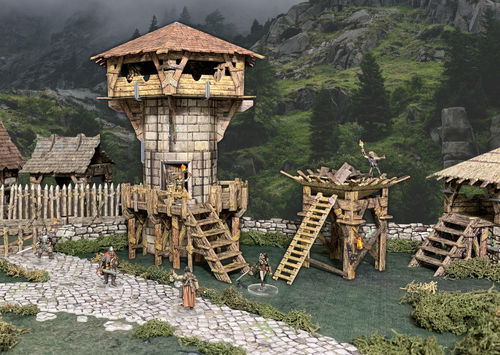 Tabletop Terrain Watchtower (84 pcs) EN