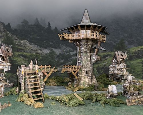 Tabletop Terrain Wizard's Tower (161 pcs) EN