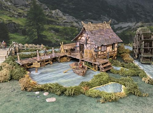 Tabletop Terrain Lake House (66 pcs) EN