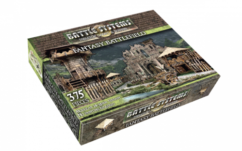 Tabletop Terrain Fantasy Battlefield (375 pcs) EN