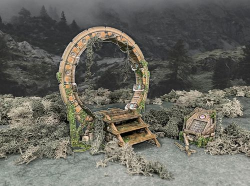 Tabletop Terrain Ancient Portal EN